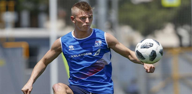 El futbolista que juega en la selección vikinga, como su bisabuelo ...